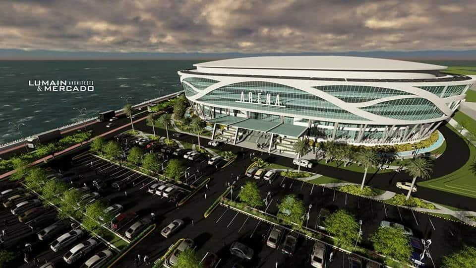 Seaside Arena built by offshore design team in Cebu